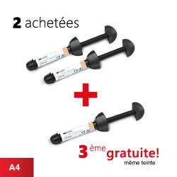 Pack de 2 seringues Z100 (A4) + 1 gratuite (A4)