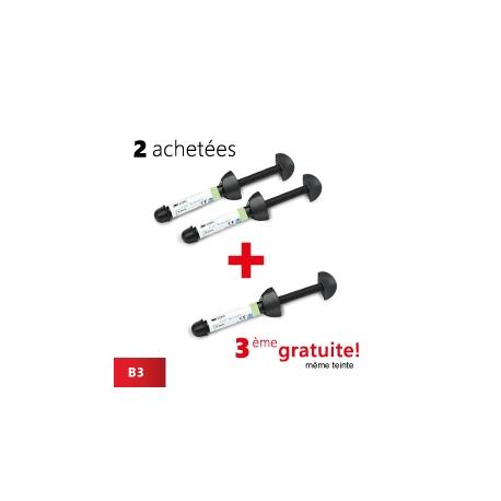 Pack de 2 seringues Z100 (B3) + 1 gratuite (B3)